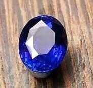 这个是标准的皇家蓝吗?火彩大家觉得怎..._刻面宝石蓝宝石