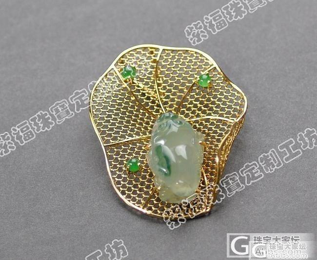 又来一个小金蝉 很有创意的项链哦_镶嵌珠宝
