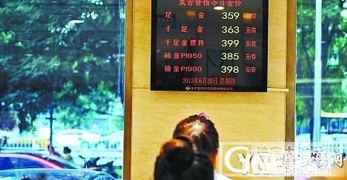 京城金饰年内第五次降价 中国大妈赔了_金