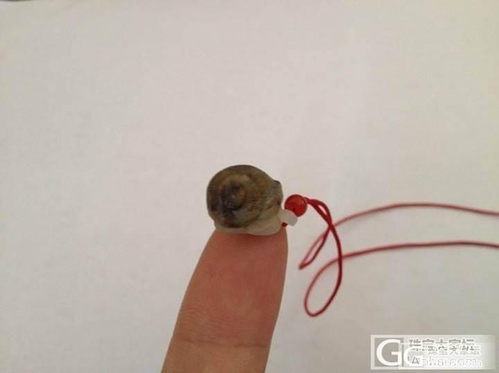 又是蜗牛,一个超级小的蜗牛~请高手帮..._和田玉