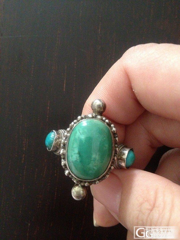 2006年西藏买的绿松石戒指_松石