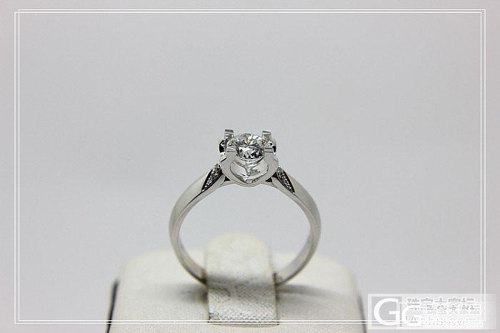 一个顾客在我这定做的50分的卡地亚款钻戒 华润珍珠_钻石