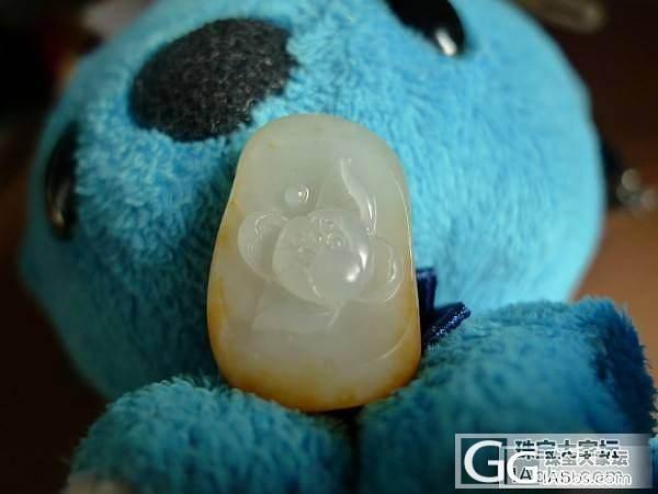 泰迪小熊的玩具_花件和田玉