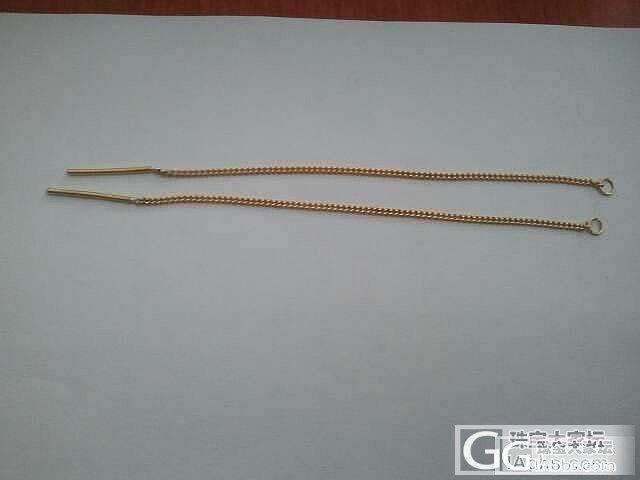 转本本10厘米的耳线 昨天收到的_金