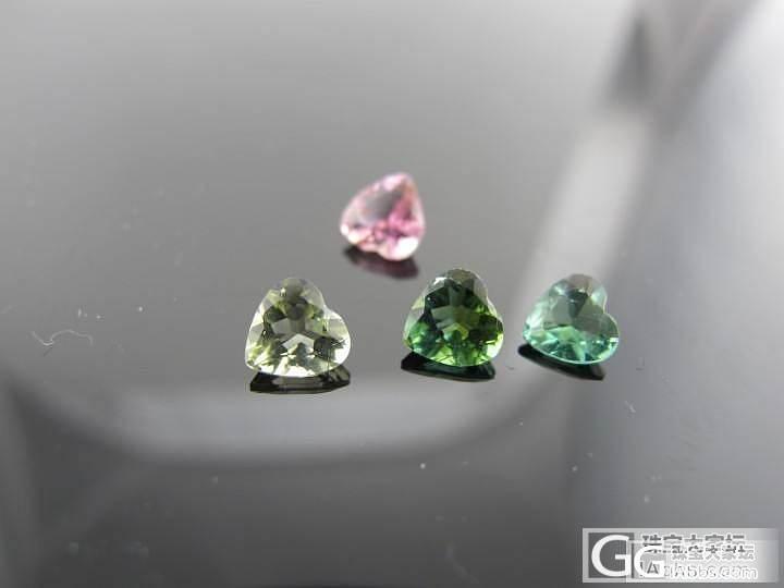 武汉伊戴永恒珠宝 一些心形的碧玺裸石..._宝石