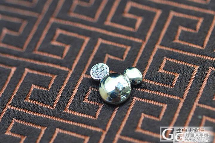 代朋友700元出售周大福95新18K..._钻石
