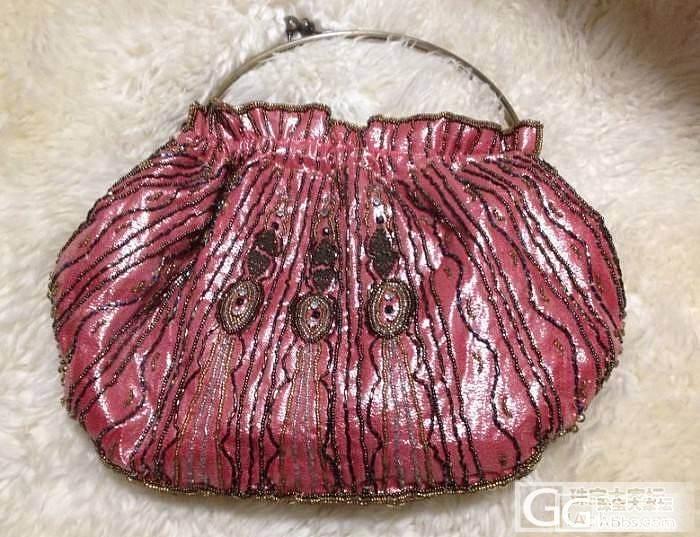 转闲中式珠绣包包1个_珠宝