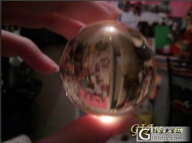今天买的黄水晶球~~_黄水晶