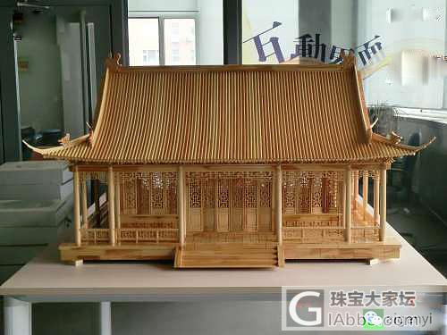 七夕节给女友特别的礼物,为女友造一座..._木工模型