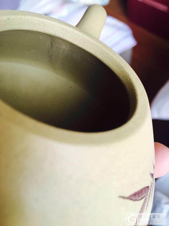 淘宝买的手工段泥壶,大师来瞧瞧_茶具陶器