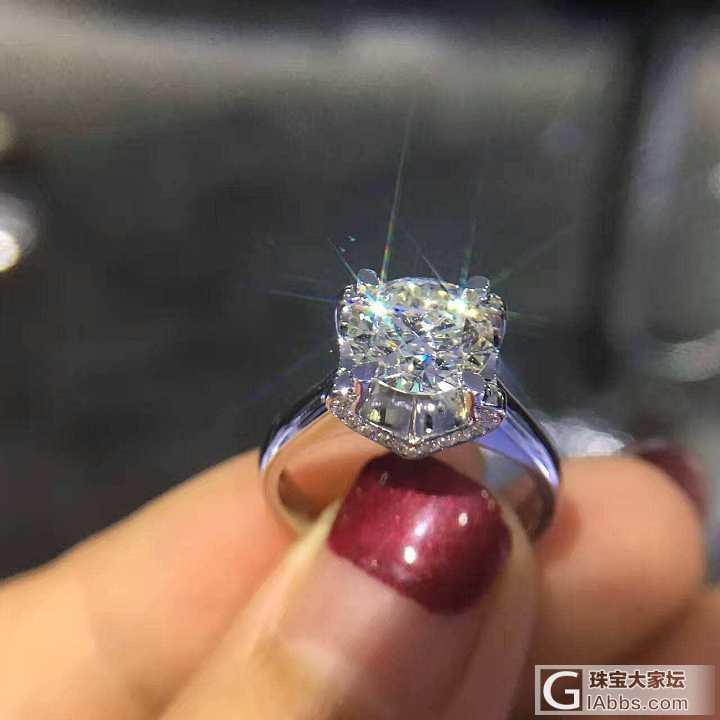 刚入手哈_戒指钻石