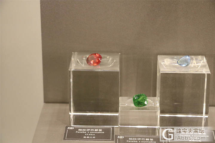博物馆里的宝石们。。。_蓝宝石彩色宝石红宝石祖母绿博物馆金绿宝石