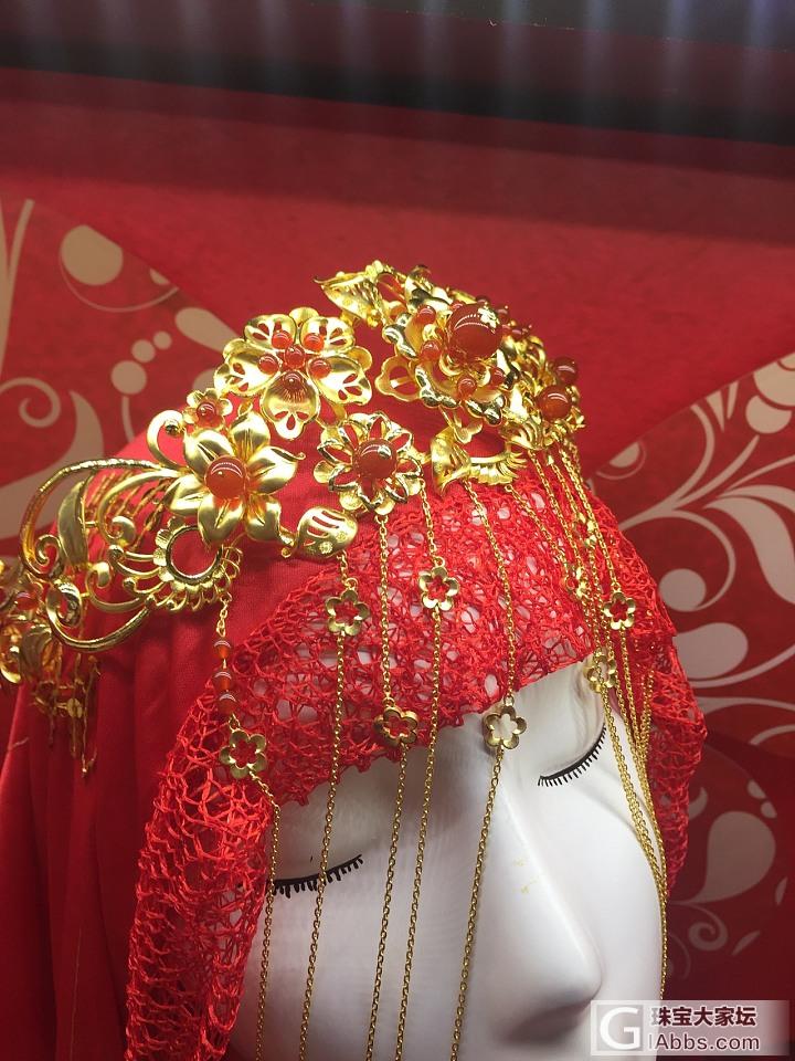 【逛水贝】新款直播2017.1.17_头饰福利社颈饰金手饰