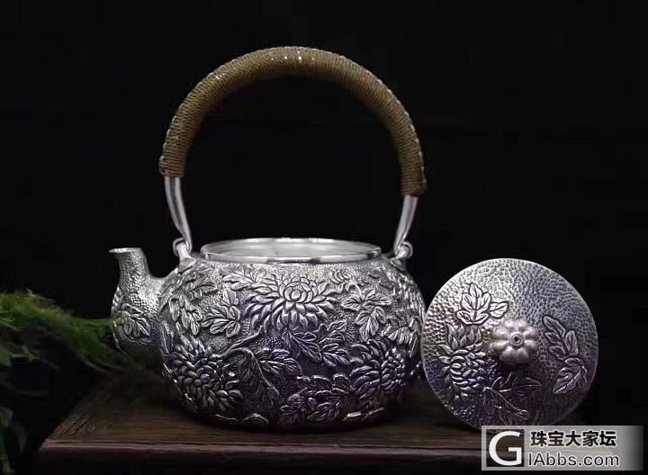 银壶新品还是不错的_银器