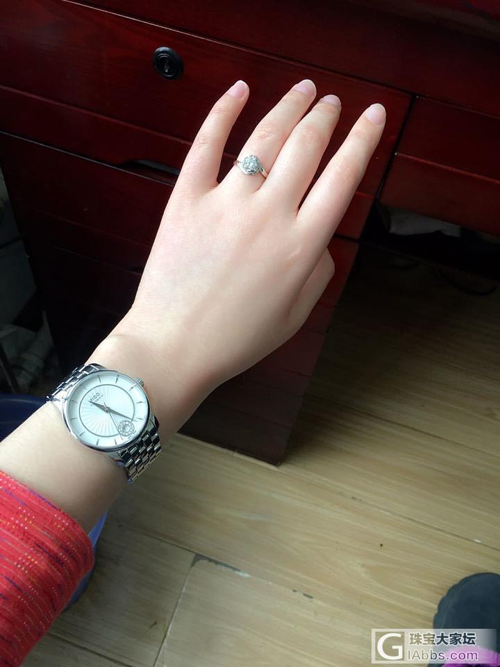 晒左右手_项链戒指金手链手表