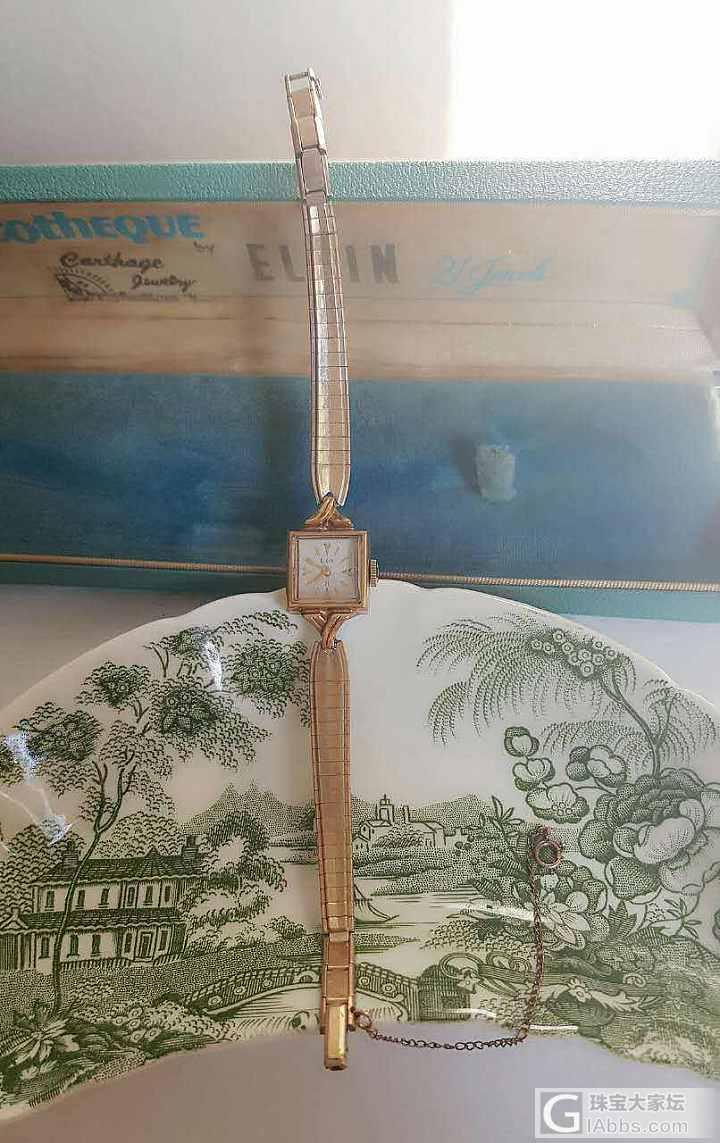 摄影性大发,晒晒这段时间新入手的物件_红宝石人造水晶古董钟表古董首饰