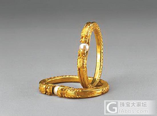 清朝皇帝后妃御用金器_古董首饰金