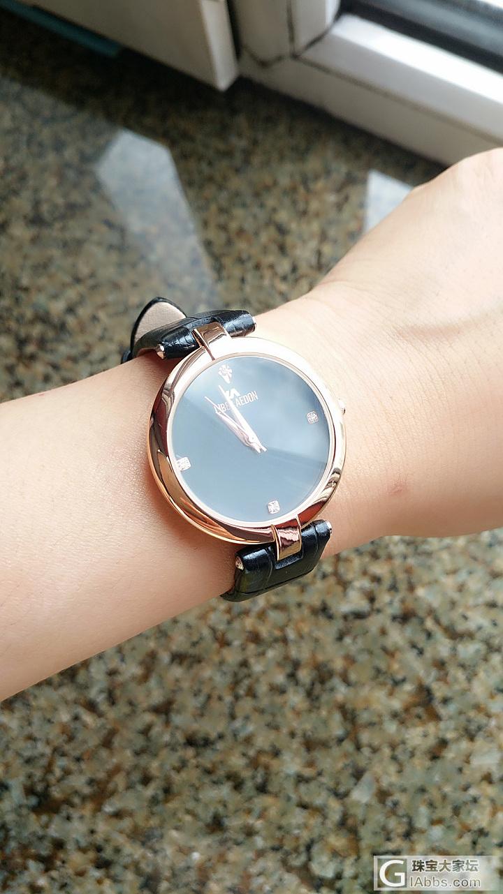 好久不戴的时装表_闲聊手表