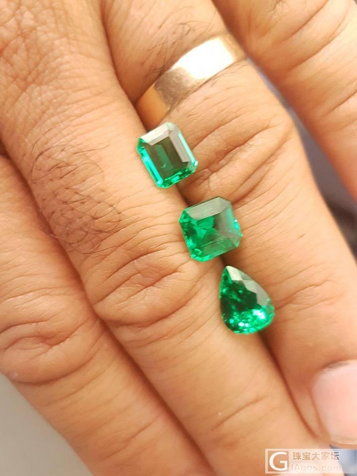 丢个2.14的小祖母绿,求估价_刻面宝石祖母绿