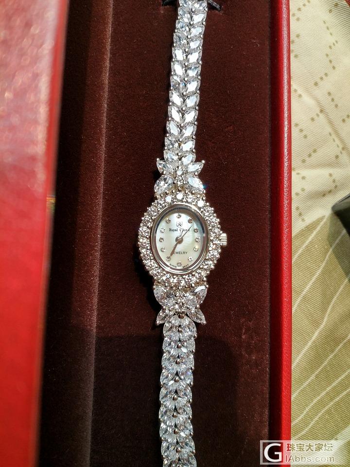 七夕节的礼物到了_手表