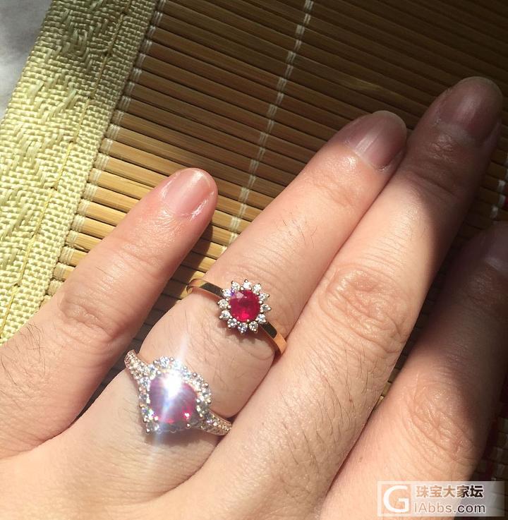 红宝红宝,阳光下的红宝_戒指红宝石