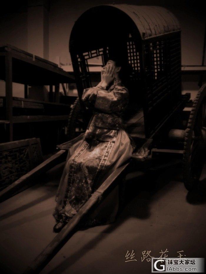 嘚瑟帖,我和我的晚清民国老首饰【配自拍写真及自写小文】_翡翠古董首饰
