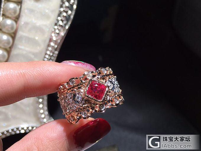 最近比较自珍的戒指_尖晶石戒指