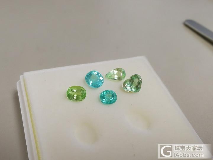 帕拉伊巴碧玺的色域参考_碧玺刻面宝石