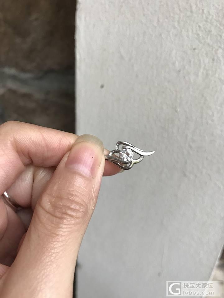 求大神鉴定这个是不是钻石,估价多少_吊坠钻石