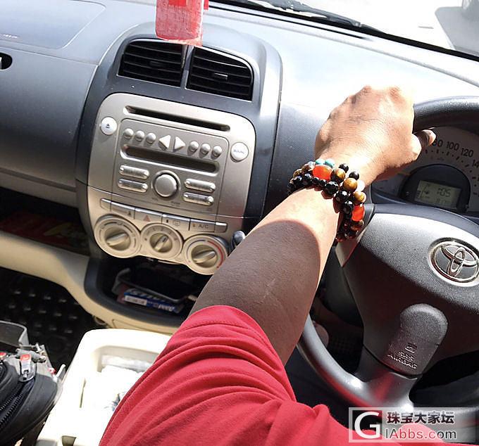 缅甸司机都喜欢戴一堆手串 我们女同胞..._琥珀蜜蜡珠串