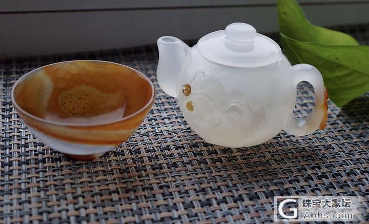 不单单是首饰,也可以用欣赏品  玛瑙..._茶具玛瑙