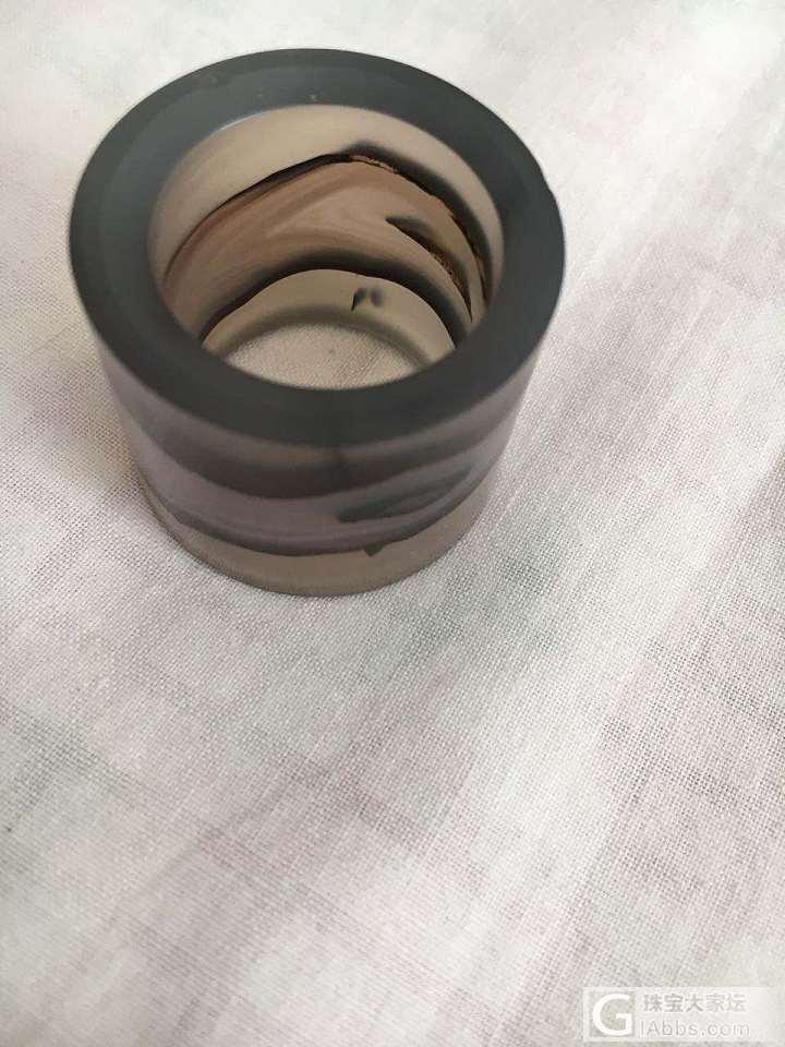 问一下这个是什么材质的扳指_扳指玉髓玛瑙
