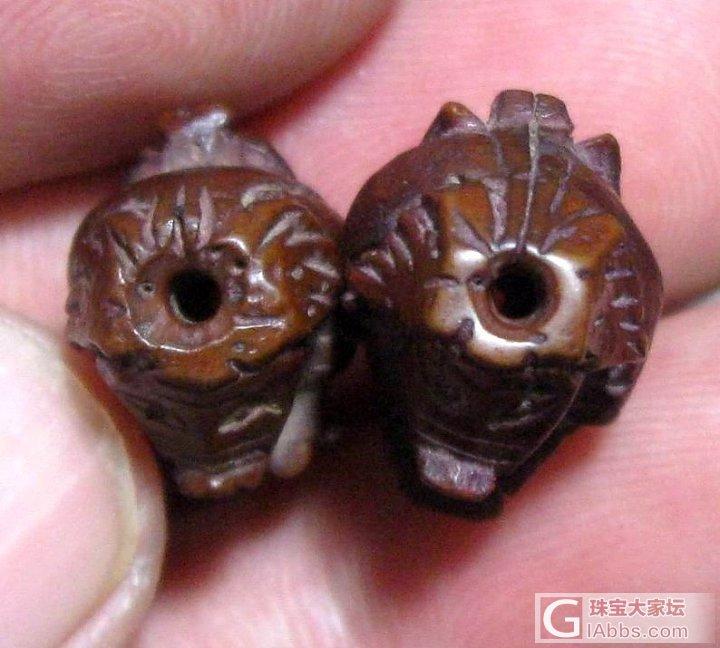 二师兄 两头。。。。。哈哈。。。。_牙骨角核桃雕刻收藏