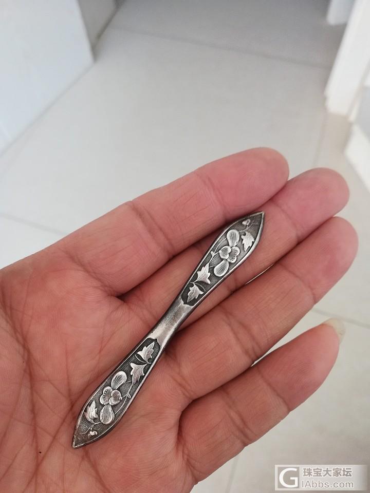 一些老银饰_古董首饰