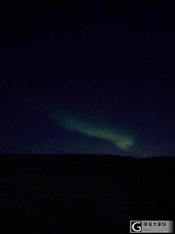 冰岛极光偶遇_旅游冰岛