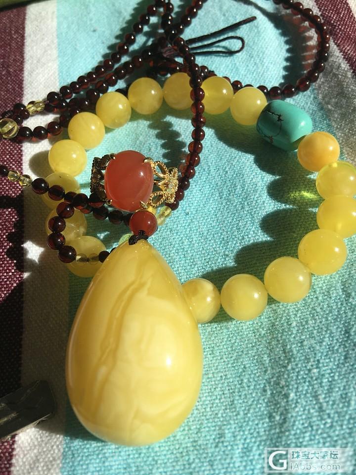 入冬后暖暖的色彩_玉髓玛瑙传统玉石和田玉