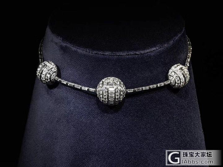 一批古董珠宝_古董首饰设计
