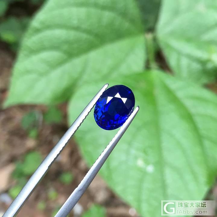 请大家帮看下这个怎么样_刻面宝石蓝宝石