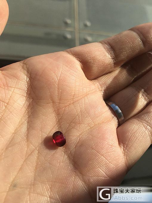 小白求大家看看这个红宝怎样_刻面宝石红宝石