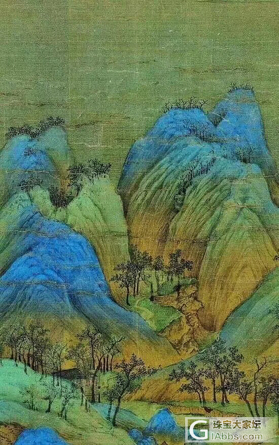 原来千年之前上等的宝石是用来画画的_书画
