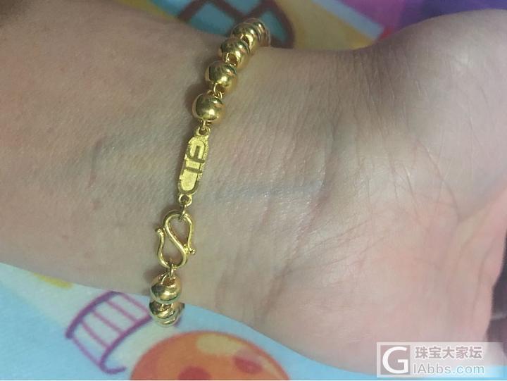 求助,自己在家如何用鱼线串黄金手链,主要是防丢失,谢谢大家了_手链金