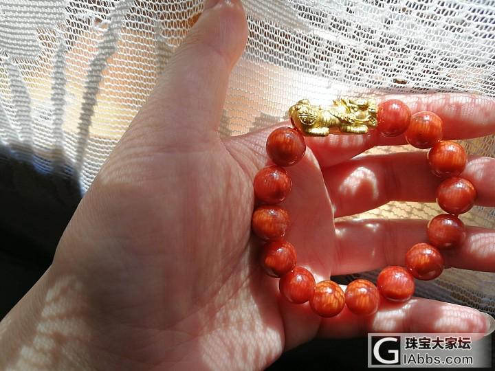 我妈爱貔貅,红红火火来过年(๑><๑)_玉髓玛瑙金