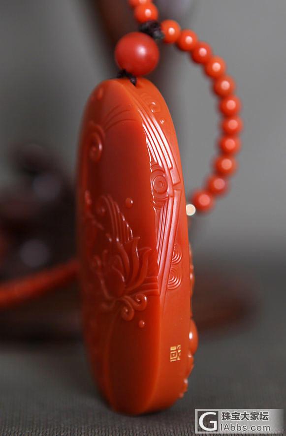 南红观音--正装大件_松石挂件南红