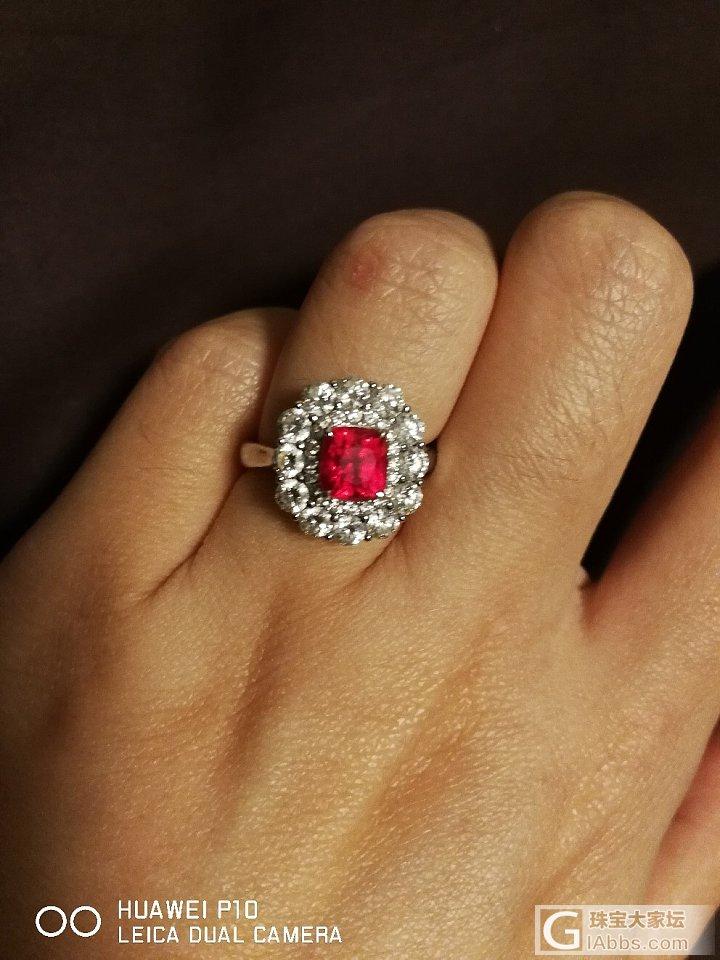 尖晶戒指还图_戒指尖晶石