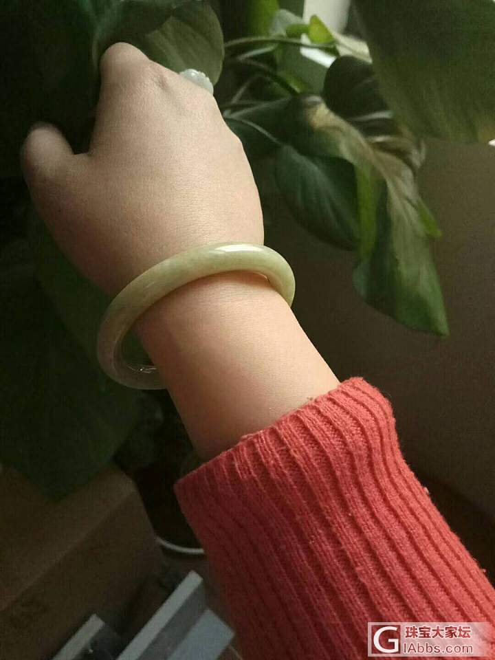 黄翡圆条180秒_手镯翡翠