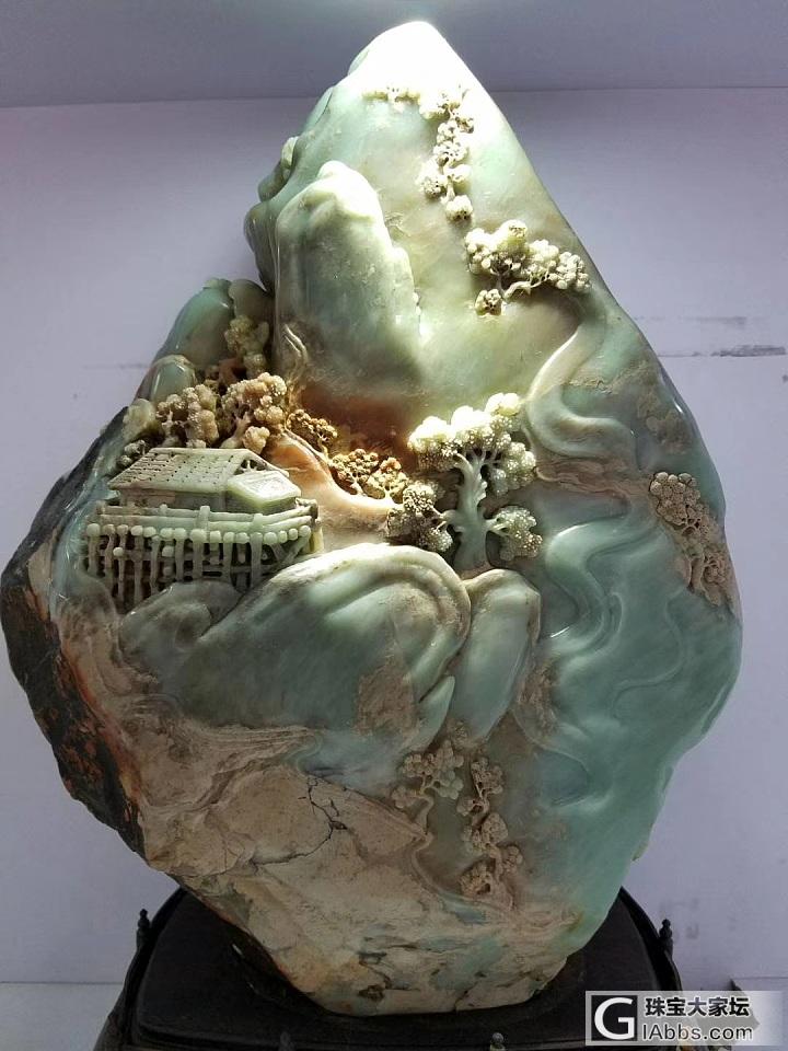 請教一下,這個壽山石值得購買嗎_擺件壽山石