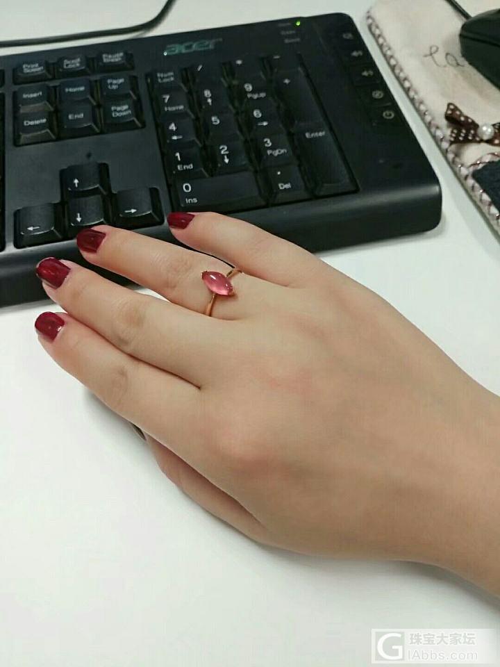 红纹石戒指,吊坠_彩色宝石