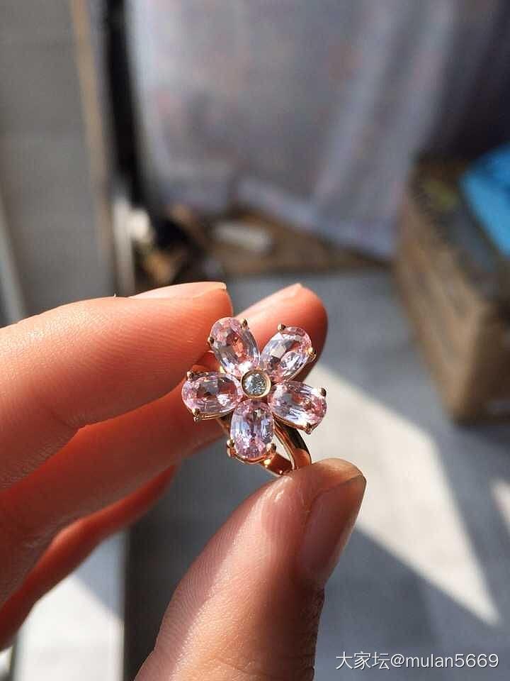 石榴石18k戒指,尖晶石戒指18k_首饰