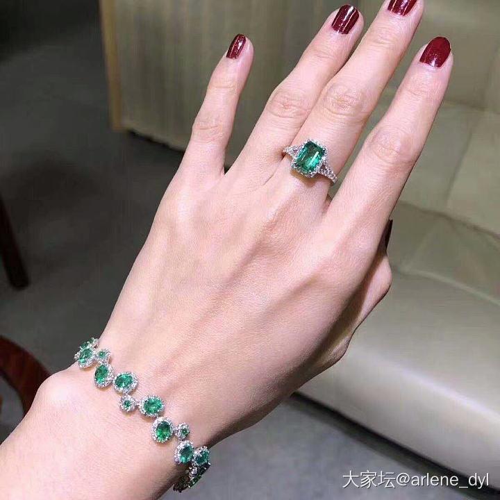 哪条漂亮_手链彩色宝石