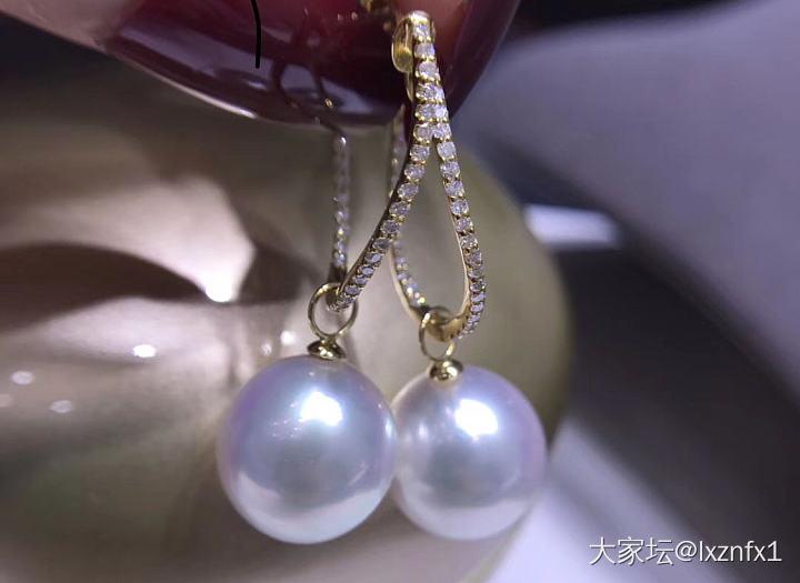 求推荐澳白耳环款式_耳饰珍珠